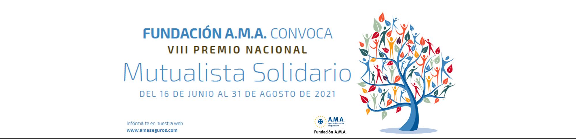 VIII PREMIO NACIONAL MUTUALISTA SOLIDARIO 2021